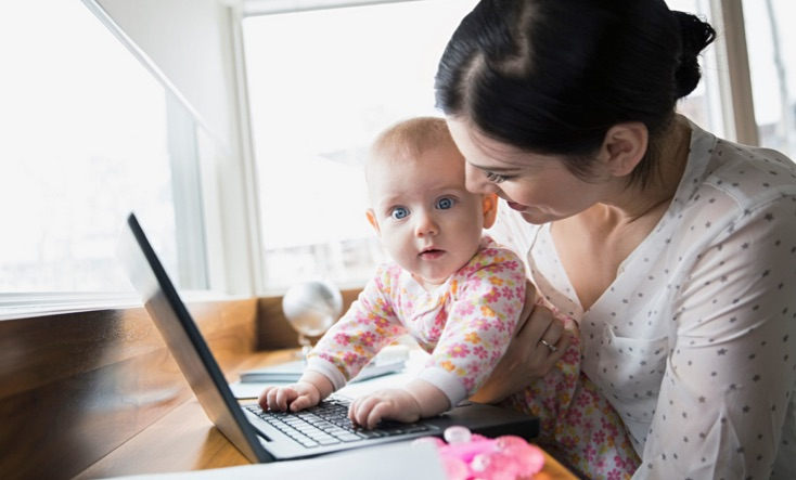 gestire il sonno dei bambini quando la mamma deve rientrare a lavoro